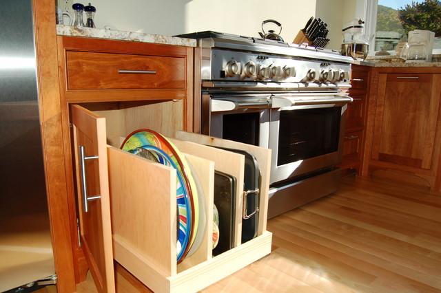 Kitchen cabinets organization Photo - 11