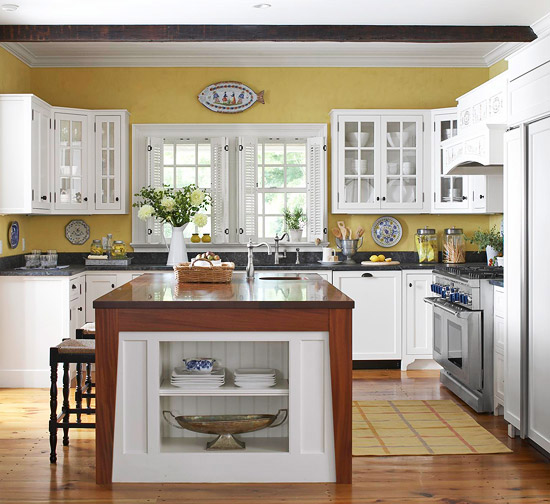 Kitchen cabinets organization Photo - 12