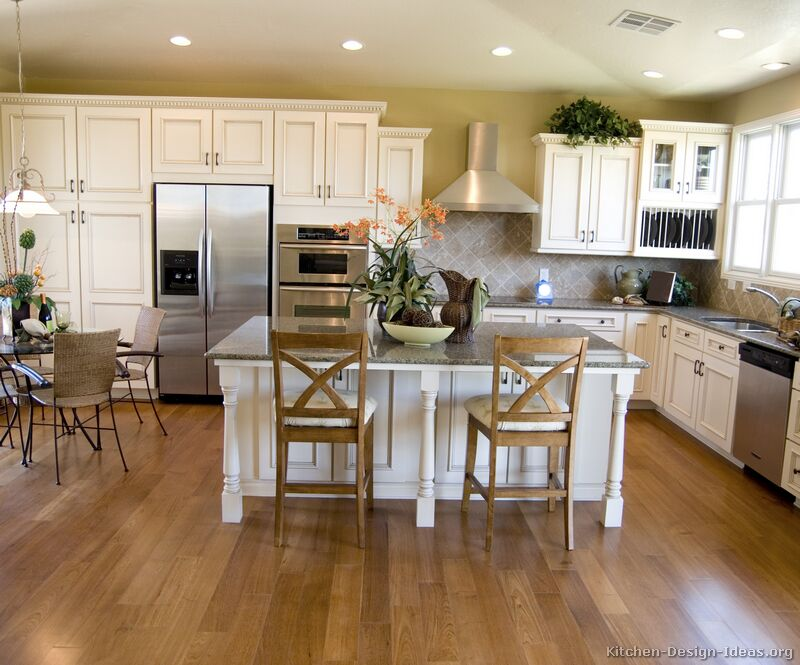 Kitchen cabinets organization Photo - 5