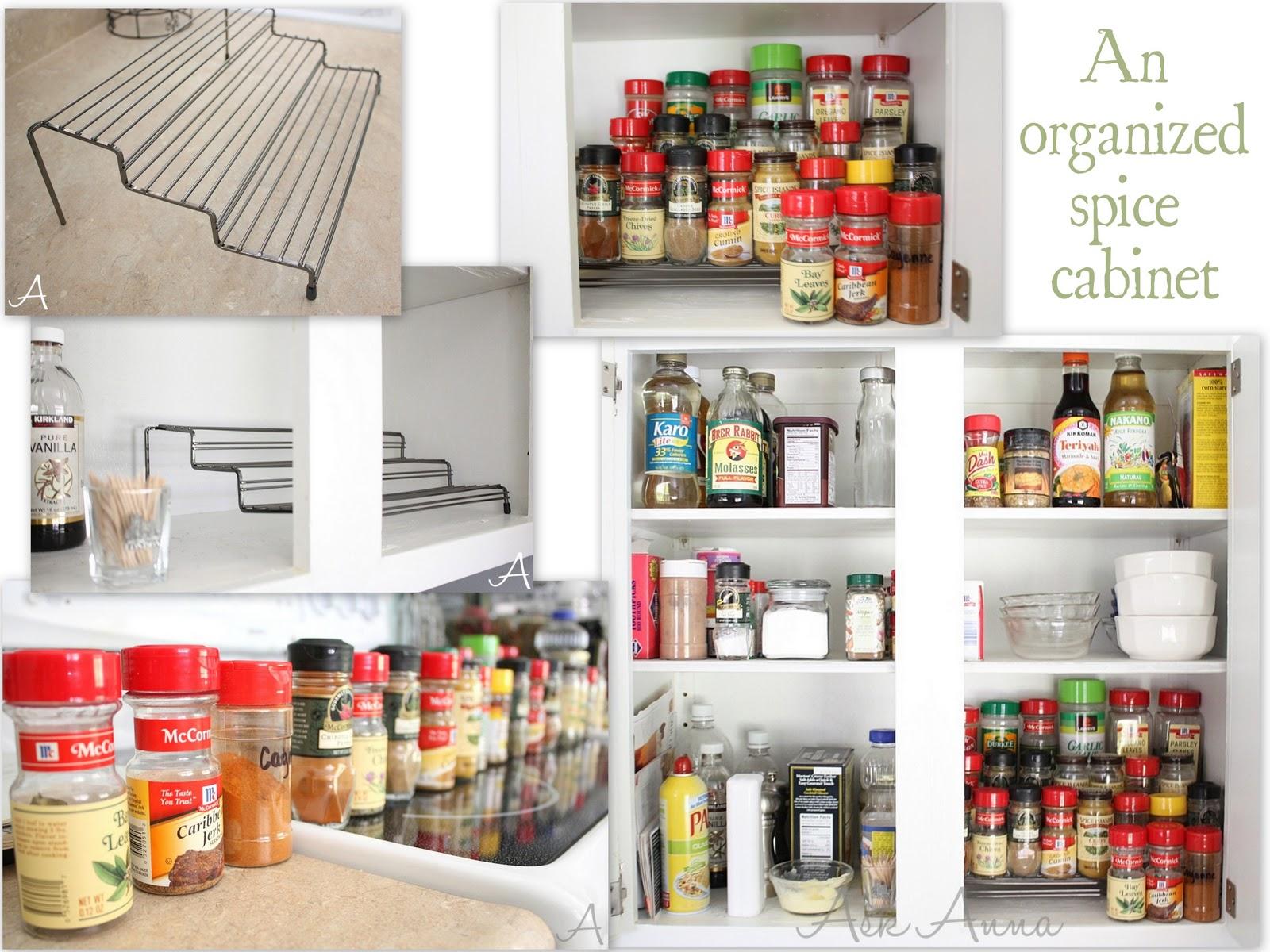 Kitchen cabinets organization Photo - 6