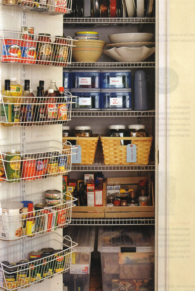 Kitchen cabinets organization ideas Photo - 3