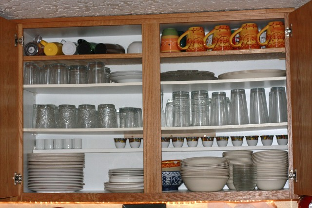 Kitchen cabinets organization ideas Photo - 4