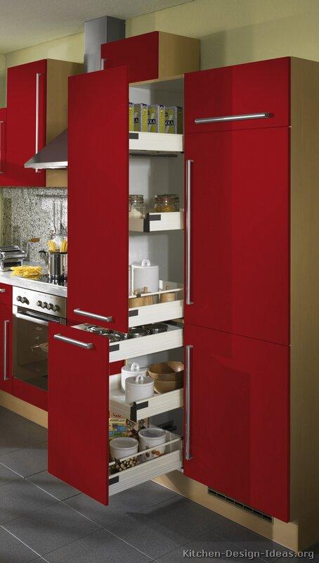 Kitchen cabinets pantry units Photo - 12