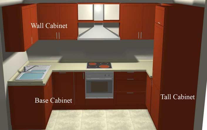 Kitchen cabinets pantry units Photo - 2