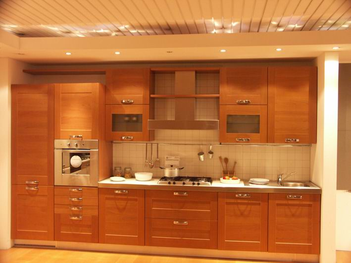 Kitchen cabinets shelves Photo - 4