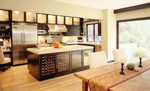 Kitchen cabinets shelves Photo - 7