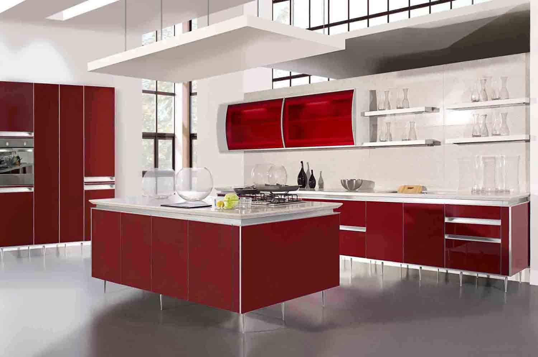 Kitchen cabinets shelves Photo - 8