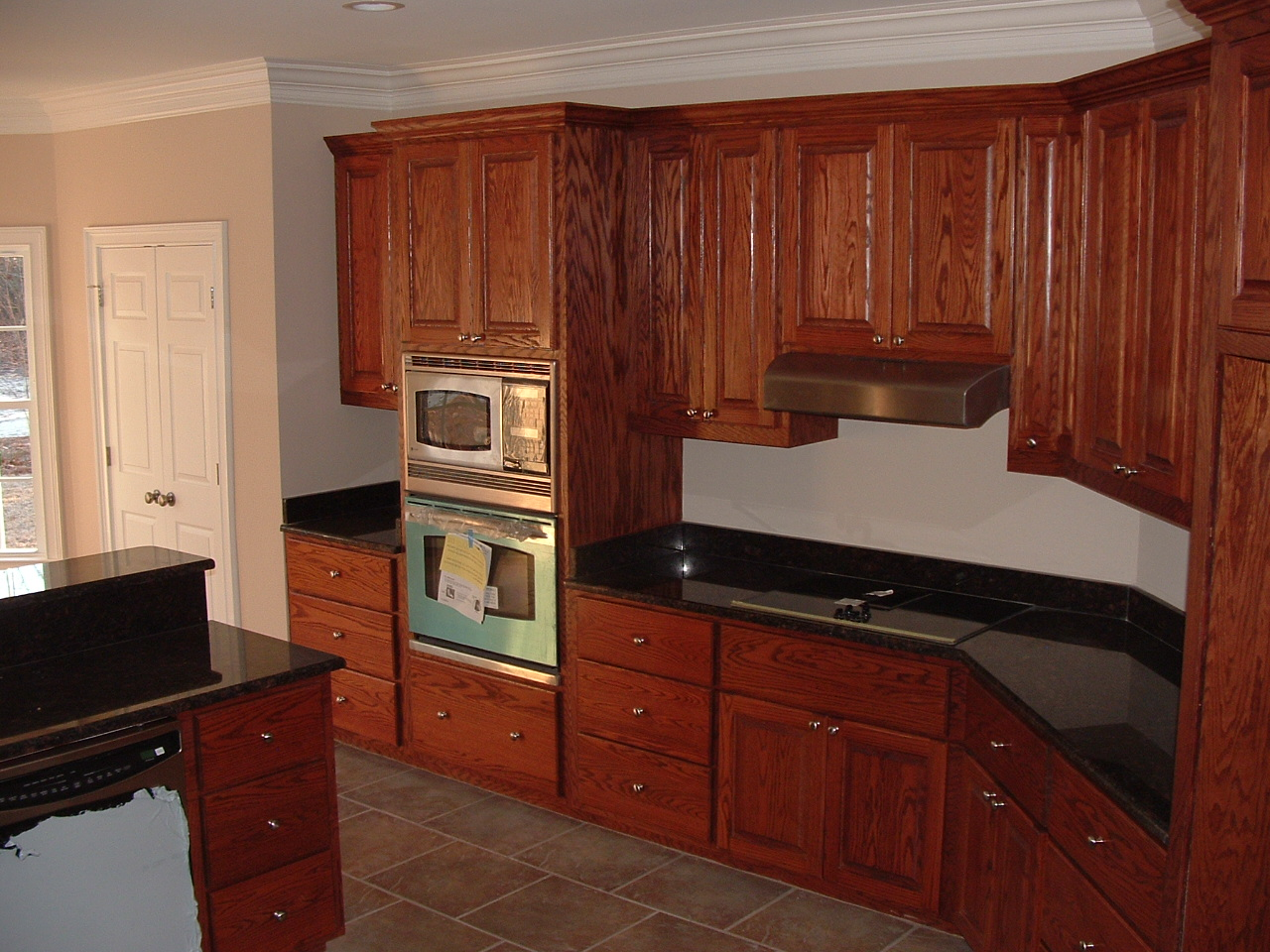 Kitchen cabinets with drawers Photo - 4