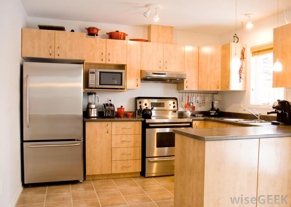 Kitchen cabinets with drawers Photo - 6