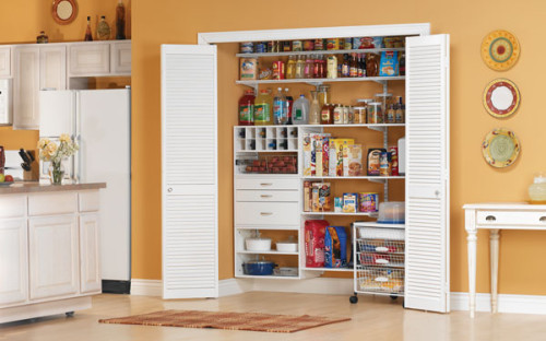 Kitchen cabinets with sliding doors Photo - 10