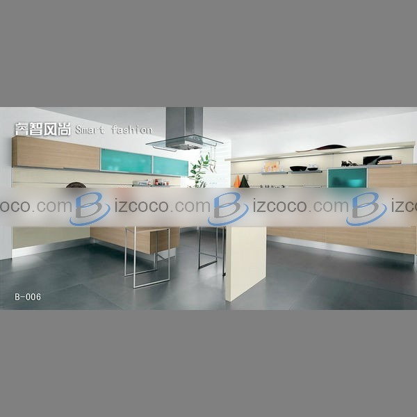 Kitchen cabinets with sliding doors Photo - 6