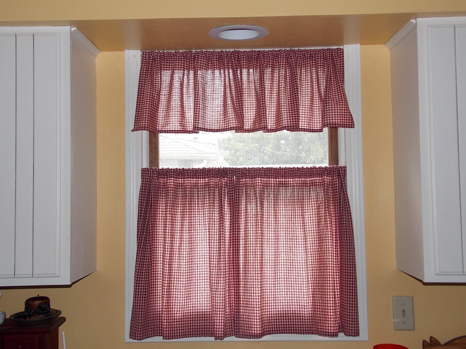 Kitchen cafe curtains -  Kitchen Cafe Curtains Photo 9