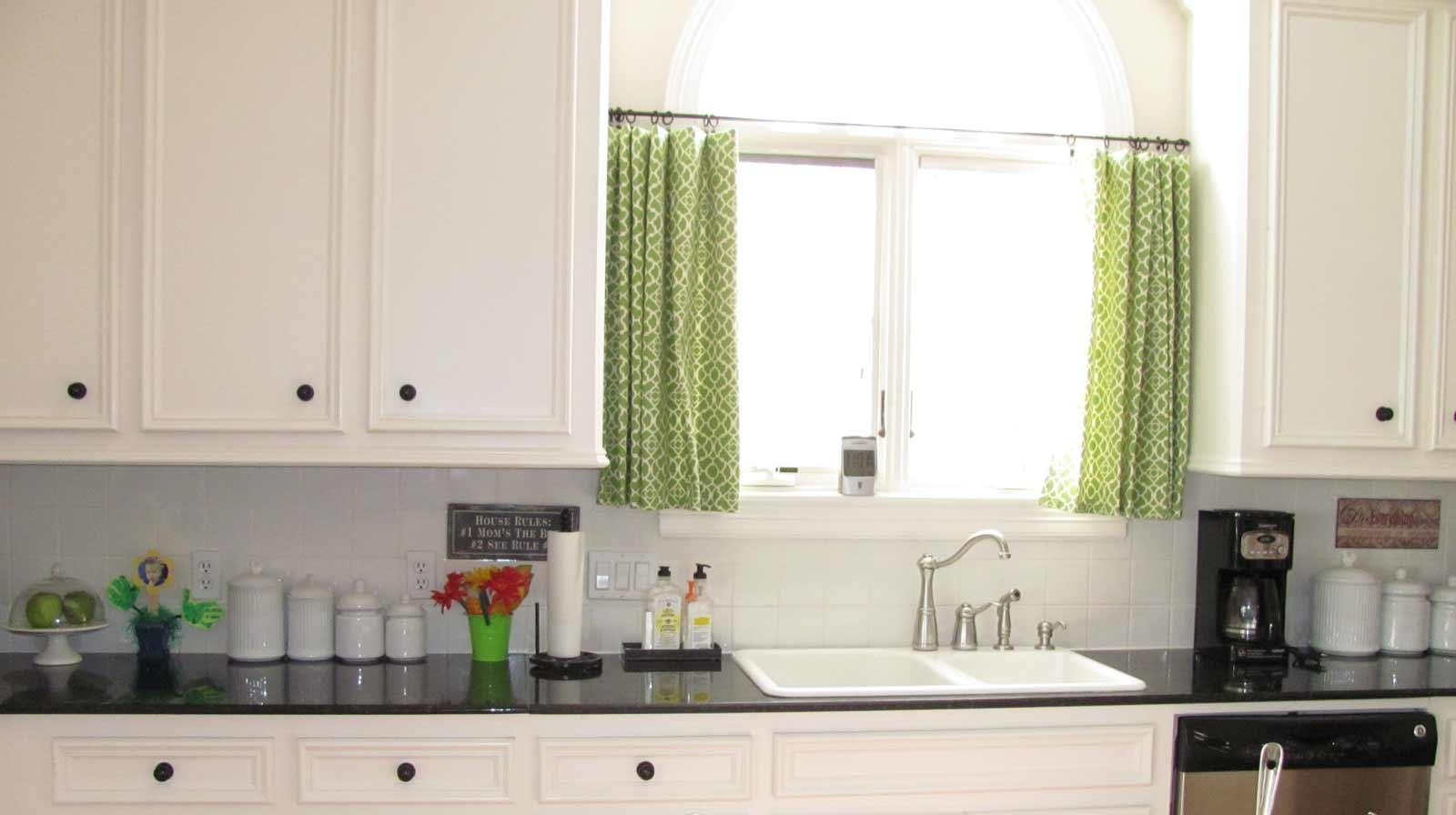Cafe curtains bathroom - Kitchen Cafe Curtains Photo 7