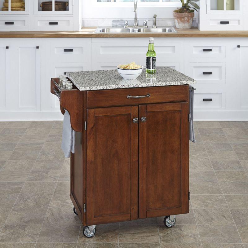Kitchen cart cabinet Photo - 4