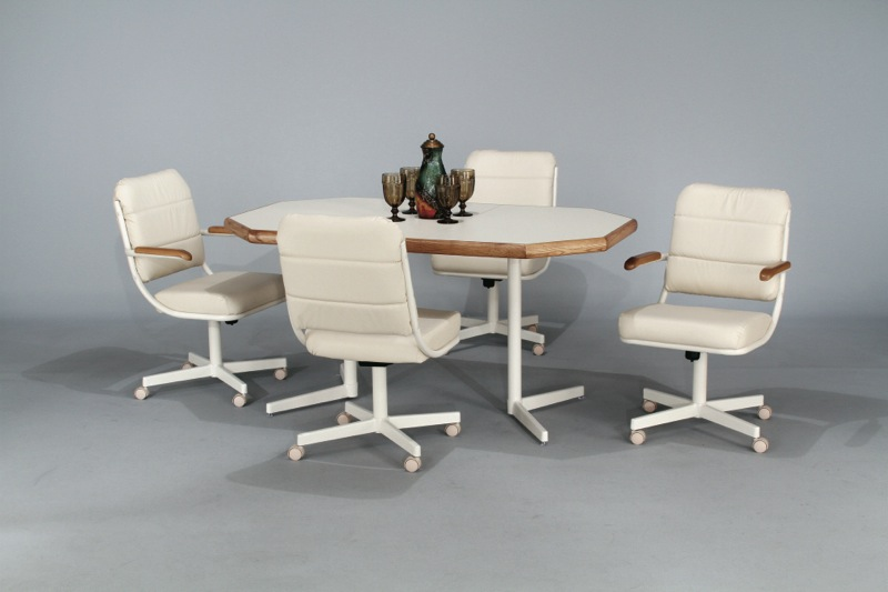 Kitchen caster chairs Photo - 1