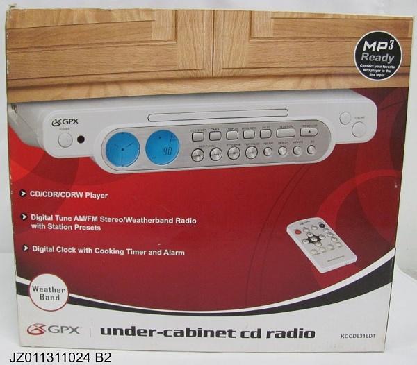Kitchen cd player under cabinet Photo - 5