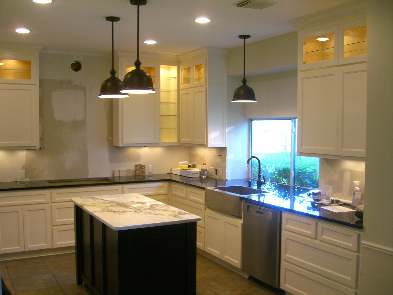 Kitchen ceiling lighting fixtures Photo - 9