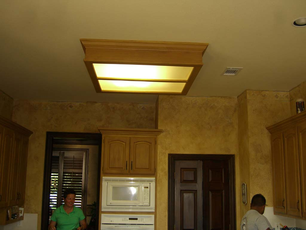 Kitchen ceiling lighting fixtures Photo - 4