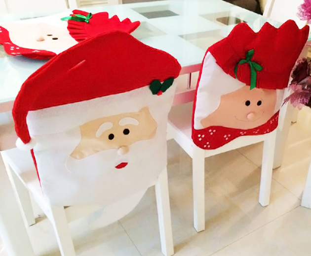 Kitchen chair back covers Photo - 9