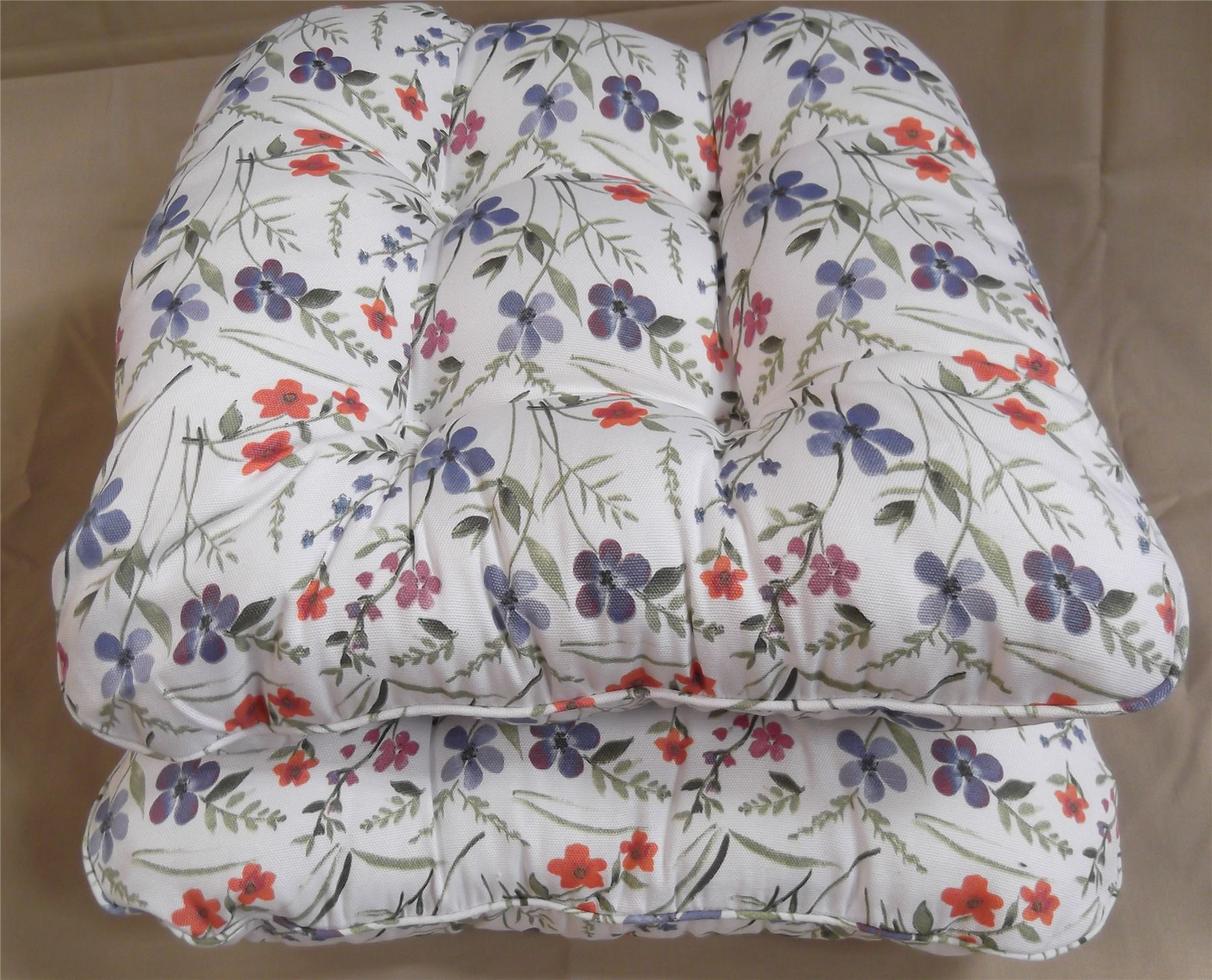 Kitchen chair pads with ties Photo - 5