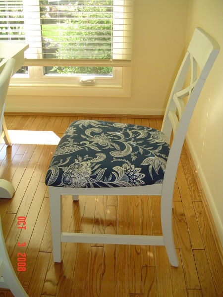 Kitchen chair seat covers Photo - 1