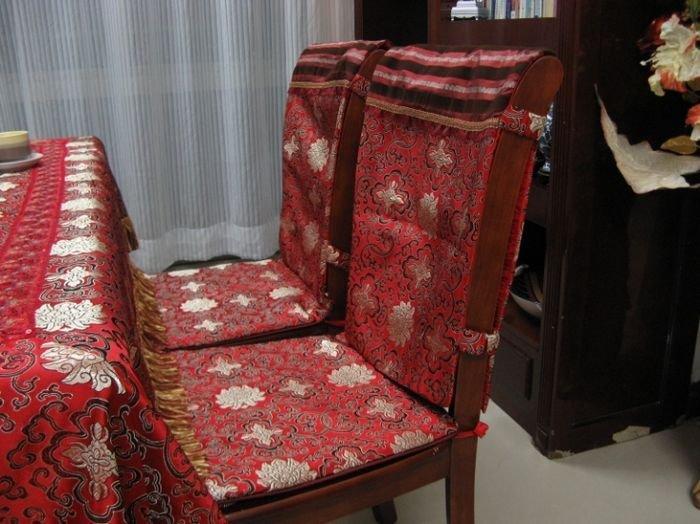 Kitchen chair slipcovers Photo - 11