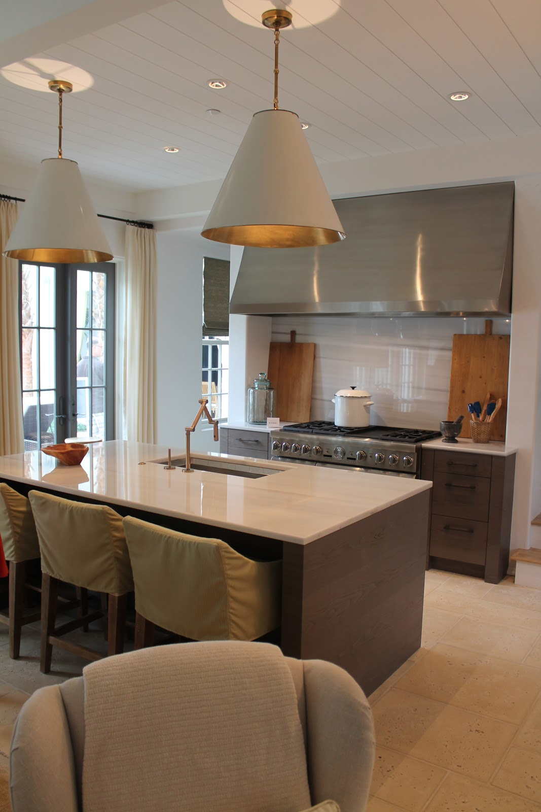 Kitchen chair slipcovers Photo - 5