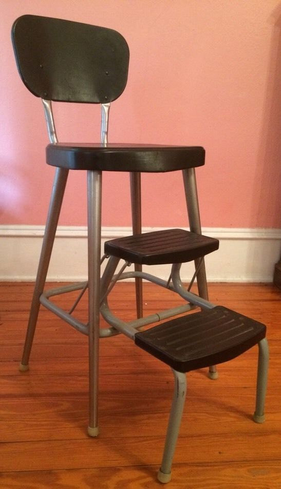 Kitchen chair step stool Photo - 10