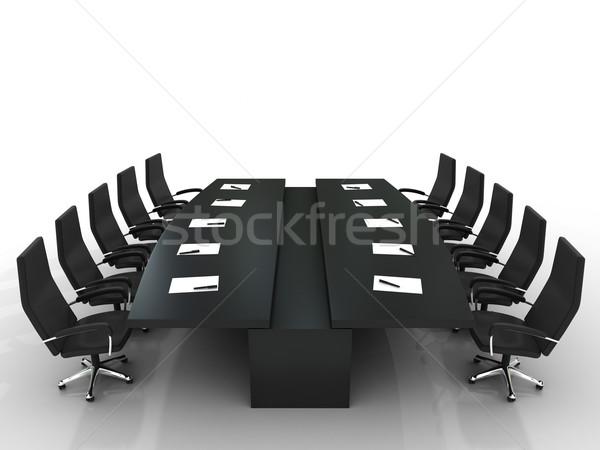 Kitchen chairs black Photo - 8