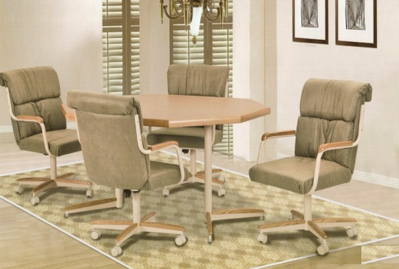 Kitchen chairs casters Photo - 10