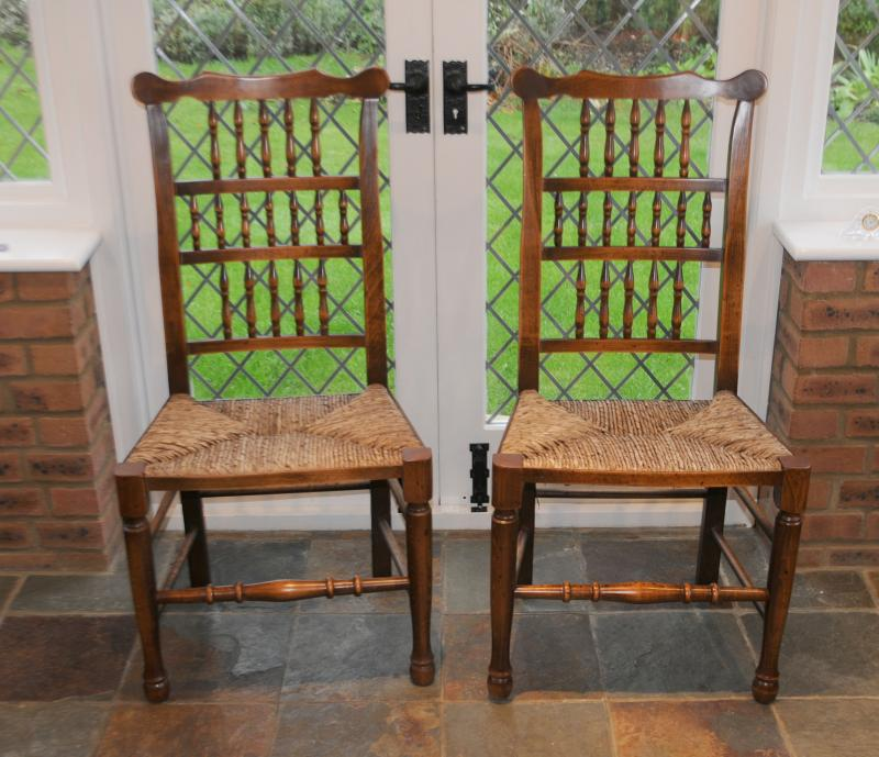 Kitchen chairs oak Photo - 1