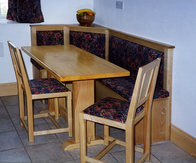 Kitchen chairs oak Photo - 9