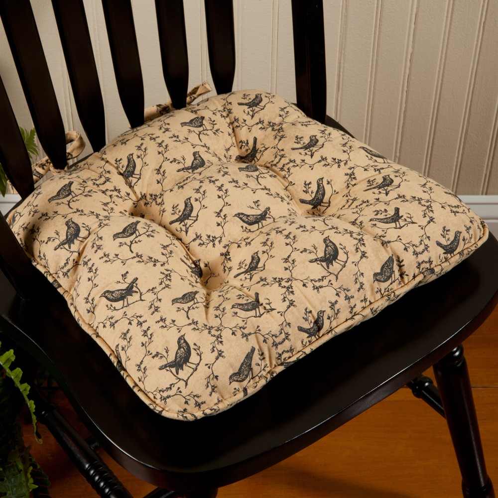 Kitchen chairs with cushions Photo - 4