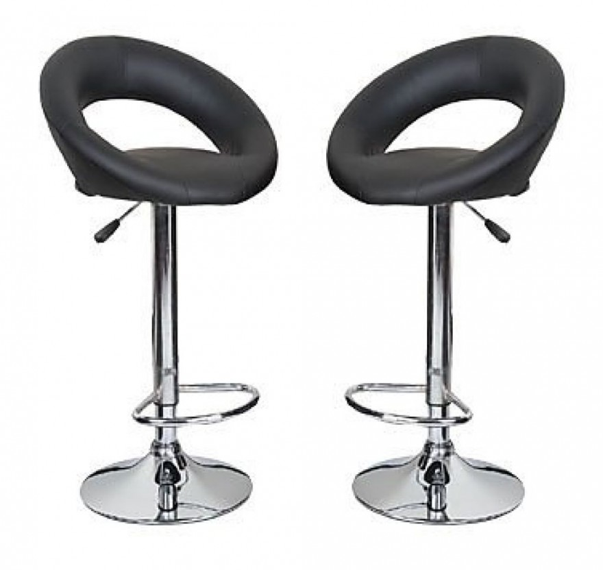 Kitchen chairs with wheels Photo - 3