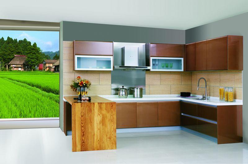 Kitchen china cabinet Photo - 6