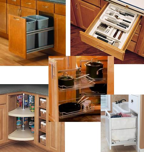 Kitchen corner cabinet organizers Photo - 4