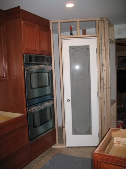 Kitchen corner pantry cabinet Photo - 7