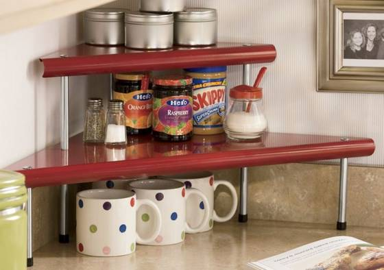 Kitchen Counter Corner Shelf Kitchen Ideas