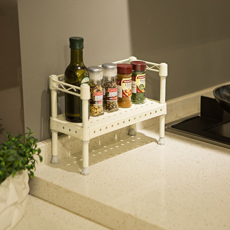kitchen counter organizer shelf kitchen ideas