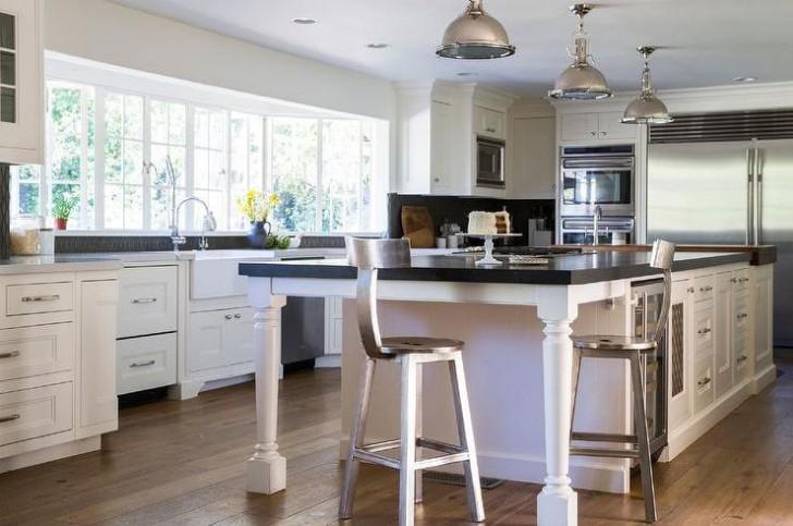 Kitchen counter stools swivel Photo - 11