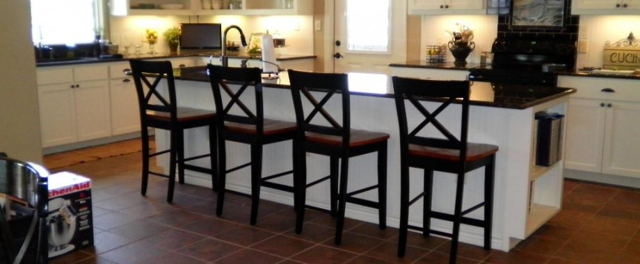 Kitchen counter stools with backs Photo - 5