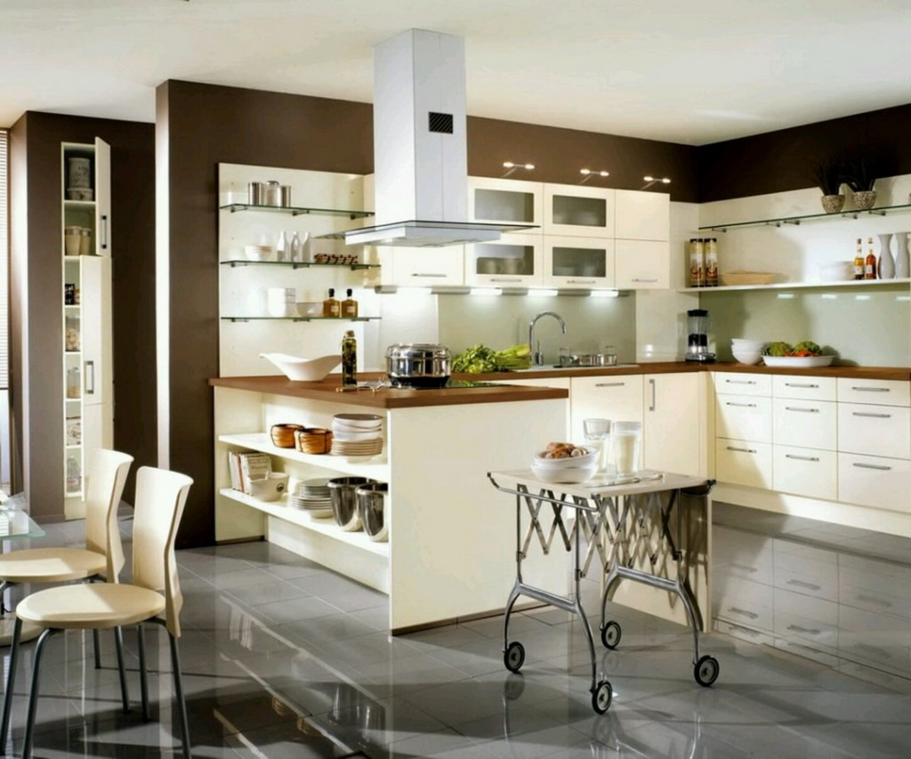 Kitchen countertop shelves Photo - 9