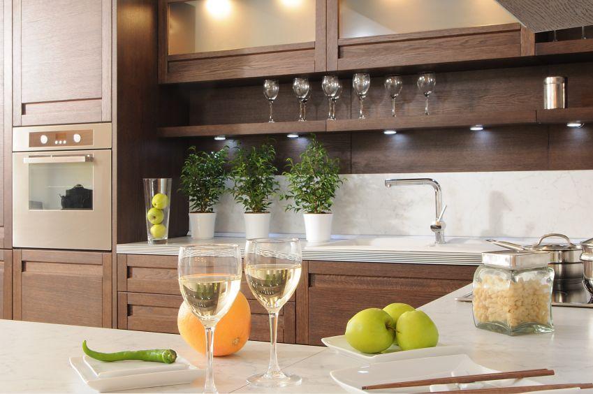 Kitchen countertop shelves Photo - 10