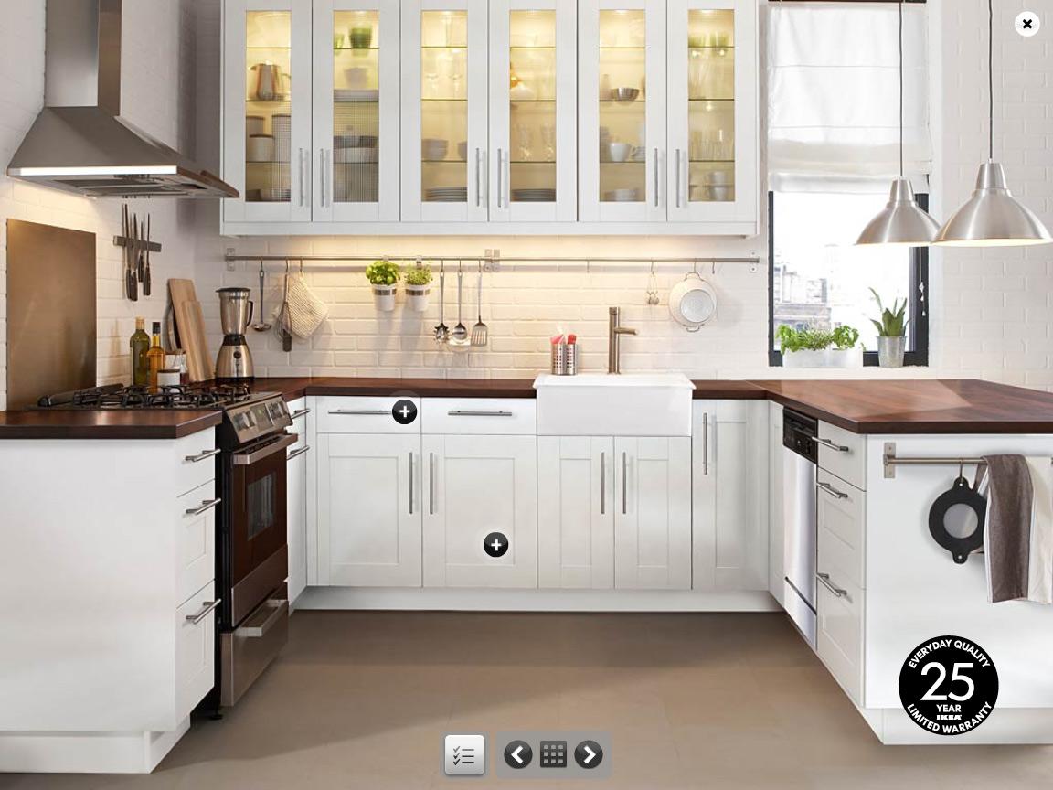 Kitchen countertop shelves Photo - 4