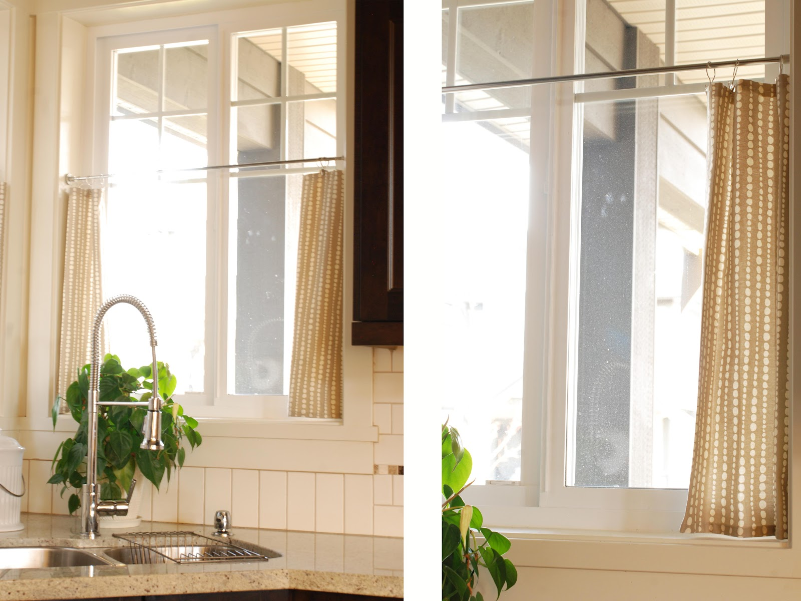 Cafe curtains kitchen 2