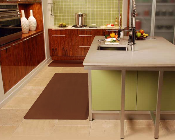 Kitchen cushion floor mat photo 12 kitchen ideas for Cushion flooring for kitchens