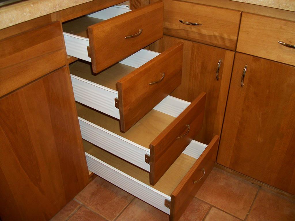 Kitchen drawer cabinets Photo - 1