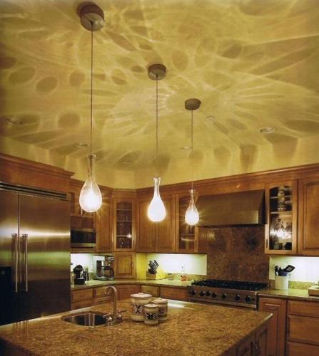 Kitchen fluorescent lighting Photo - 1