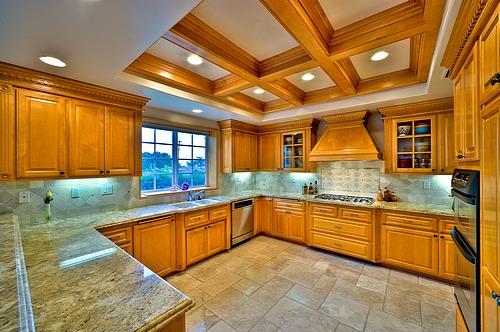Kitchen fluorescent lighting Photo - 2