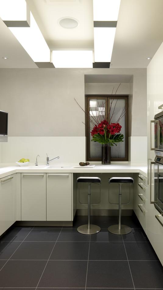 Kitchen fluorescent lighting Photo - 3
